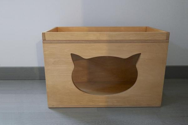 Maxi cubo da appoggio per gatti