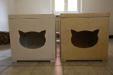 armadietto cat toilette